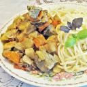 Csirkemáj curry zöldségekkel