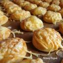 Apró sajtos korongok