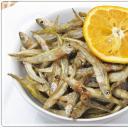 Caca / sült tengeri apróhal.