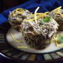 Mákos tészta muffin