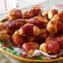 Baconos turos falatkák