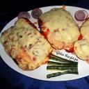 zöldséges sajtos krinolin