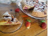 Epres piskóta torta, liszt nélkül